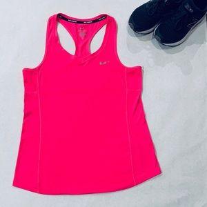 EUC Nike Dri-Fit Running Racerback Med Pink Tank